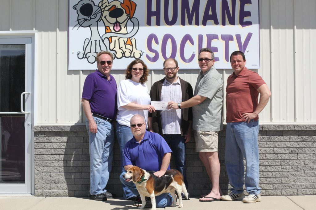 Humane Society Check Presentation