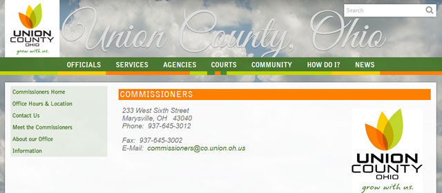 The Union County Commissioners