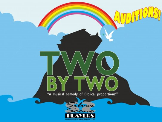 "Auditions are set for the Richard Rodgers Musical Comedy ""Two by Two""!"