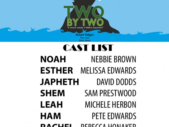 """Two By Two"" Cast Announced!"