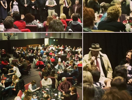 Thank You for making our first Valentines Murder Mystery Dinner Theatre a huge success!