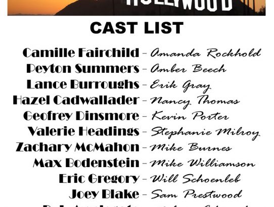 """Live From Hollywood"" Cast Announced!"