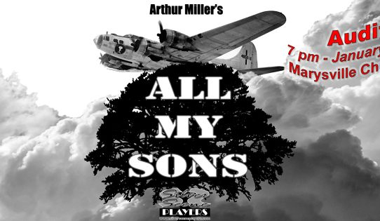 "Last night of auditions for Arthur Miller's ""All My Sons"""