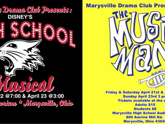 A Great Weekend For Theatre in Marysville!