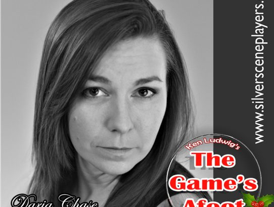 "Meet Amanda Rockhold... Daria Chase in ""The Game's Afoot!"""