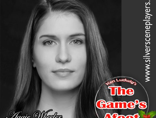 "Meet Caitlin Wilson... Aggie Wheeler in Ken Ludwig's, ""The Game's Afoot"""
