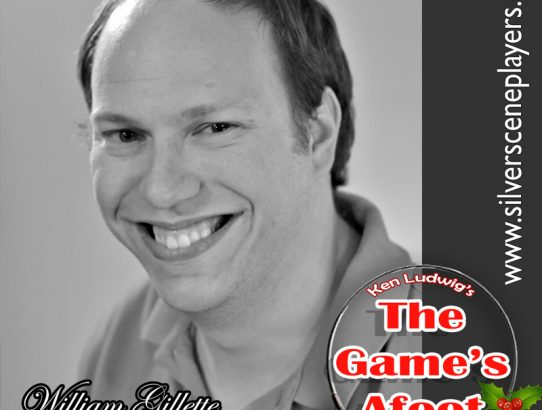 "Meet Erik Gray... William Gillette in Ken Ludwig's ""The Game's Afoot!"""