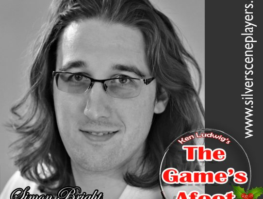 "Meet Joshua Sands... Simon Bright in Ken Ludwig's, ""The Game's Afoot"""