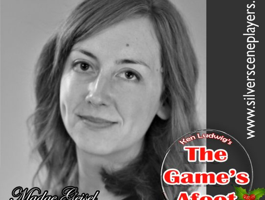 "Meet Leah McCoy... Madge Geisel in Ken Ludwig's ""The Game's Afoot!"""