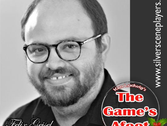 "Meet Michael Williamson... Felix Geisel in Ken Ludwig's ""The Game's Afoot!"""