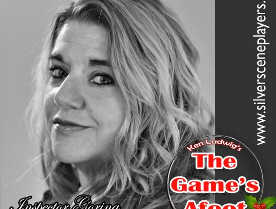 "Meet Michele Herbon... Inspector Goring in Ken Ludwig's ""The Game's Afoot!"""