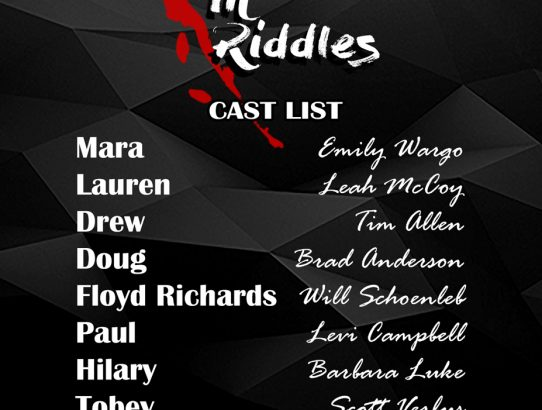 """Dancing in Riddles"" Cast Announced"