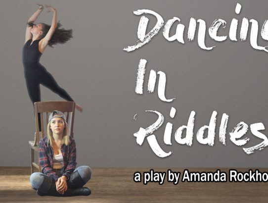 """Dancing in Riddles"" tickets now on Sale!  Also in October!"