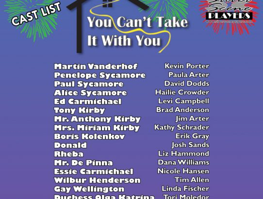 """You Can't Take it With You"" cast announced!"