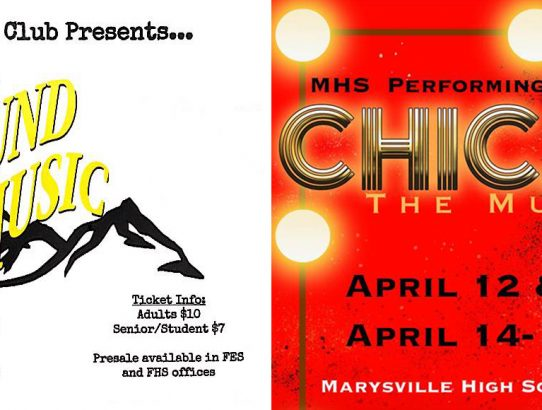 Two Exciting High School Productions in Marysville this weekend!