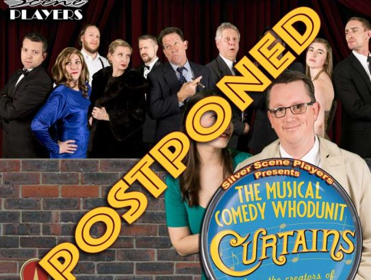 """Curtains"" canceled this weekend... Future date??"