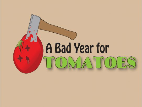 "AUDITIONS - ""A Bad Year for Tomatoes"" - next week!"