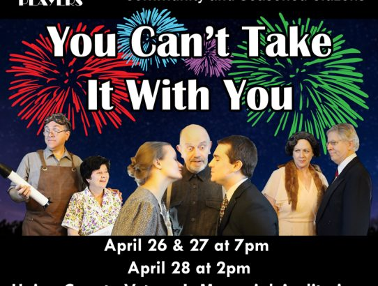 """You Can't Take it With You"" opens this weekend!"