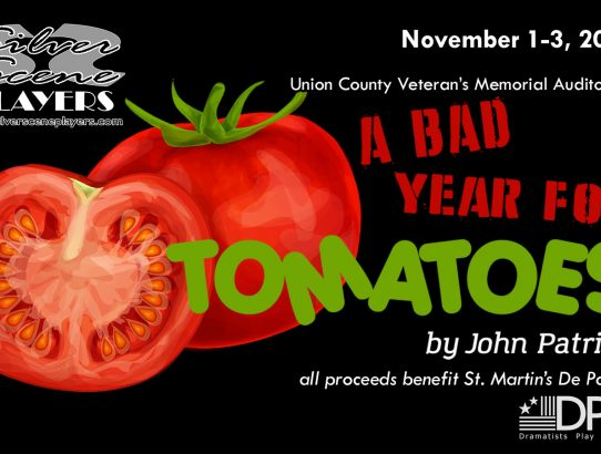 "Tickets for ""A Bad Year For Tomatoes"" Now on Sale!"